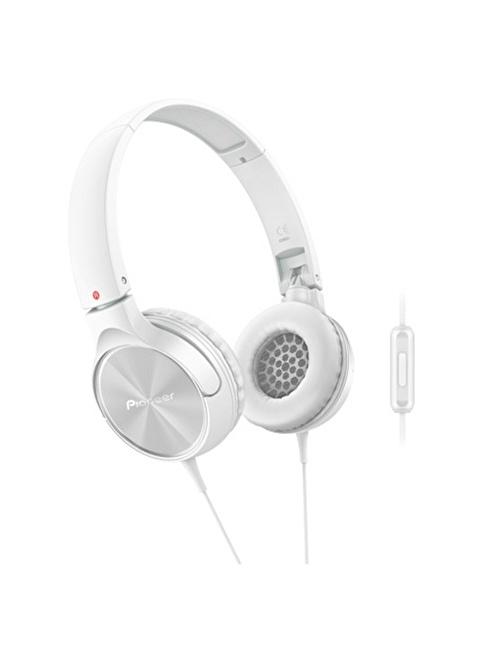 Pioneer SE-MJ522T-W  Kulaküstü Mikrofonlu Kulaklık Beyaz